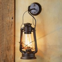 Rustic light fixtures  simplicity, coziness and romantic ...