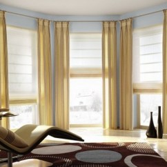 Bay Window Curtain Ideas For Living Room Picture Of Designs Give Your A Glamorous Look