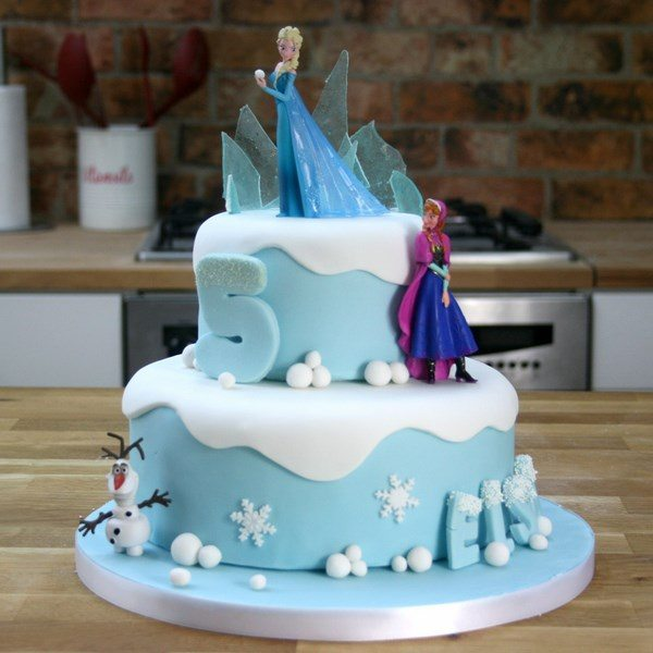 Frozen cakes and decoration ideas for the greatest