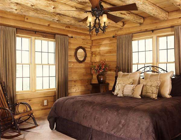 log cabin homes exterior interior