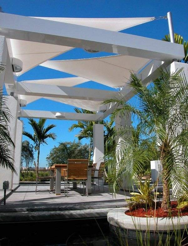 Garden shade structures  choose the right one for your