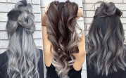 grey ombre hair - ideas