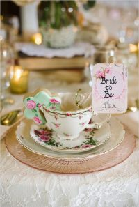 How to host the perfect bridal shower tea party  useful ...