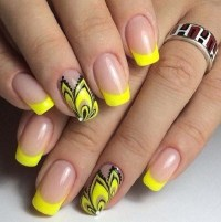 Colorful summer nails ideas - adorable butterfly nail art ...