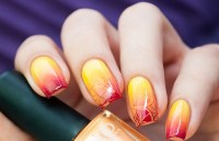 Fancy summer nails ideas - beautiful ombre nail art
