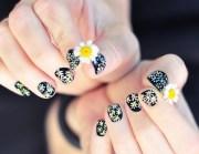 daisy nail art ideas cute summer