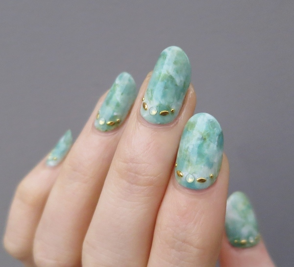 How To Do Marble Nails At Home Stylish Nail Art Ideas