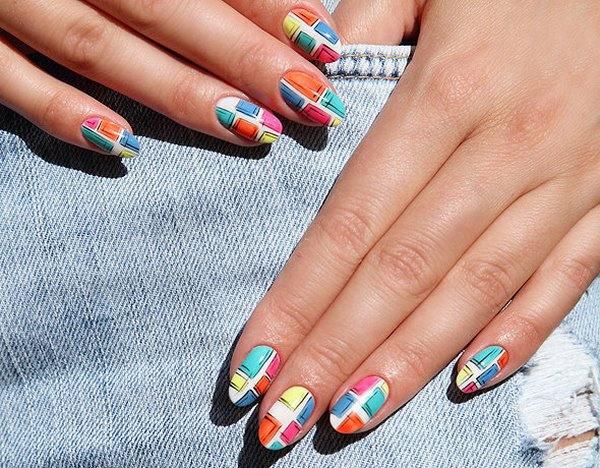 Geometric Nail Art Ideas Techniques And Tutorials