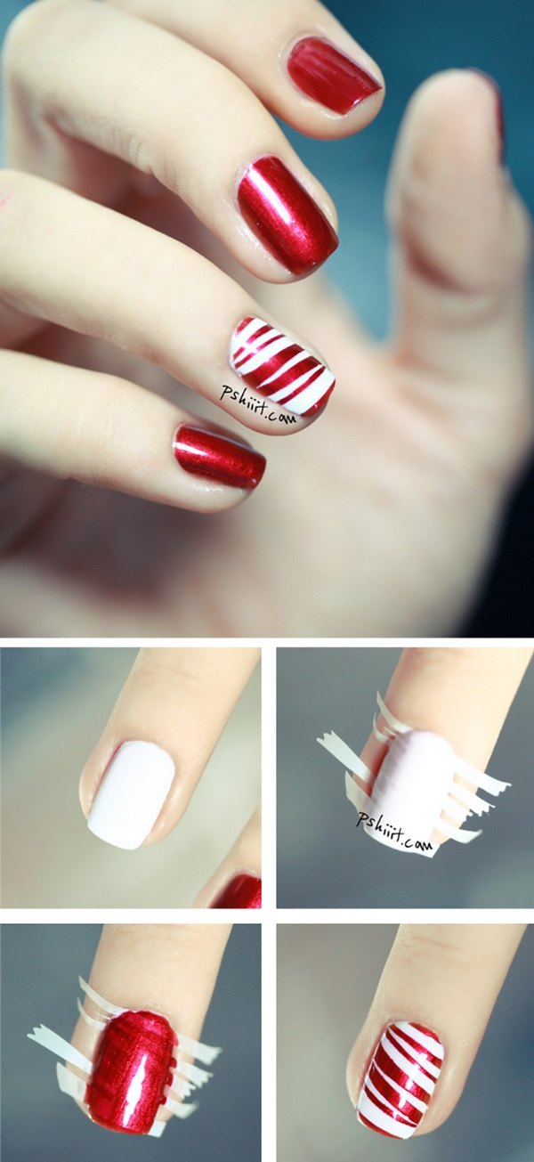 Easy Christmas nails ideas  add to the festive spirit of