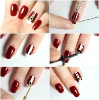 Easy Christmas nails ideas  add to the festive spirit of ...