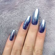 coffin shaped nails fashionable