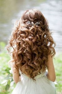 Bridesmaid hairstyles  elegant hairdo ideas in different