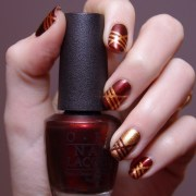 burgundy nails rich manicure