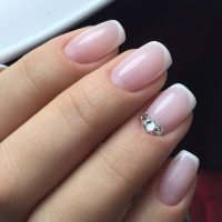 Elegant nail designs with rhinestones  glamorous and chic ...