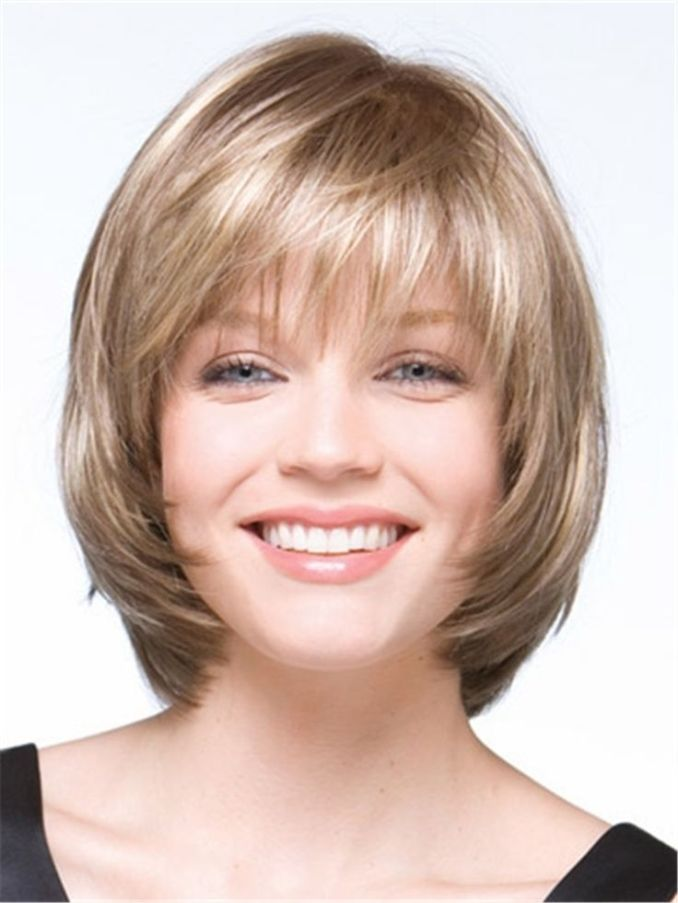 Image Result For Stunning Medium Hairstyles For Round Faces