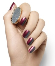 burgundy nails rich manicure