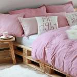 Diy Pallet Bed Frame Fantastic Bedroom Furniture Design Ideas
