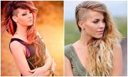 shaved hairstyles women - trendy