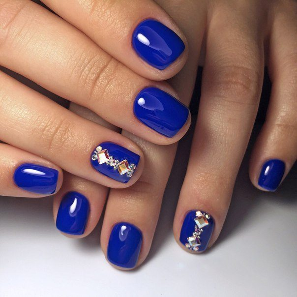 Blue nail art ideas  a universe of creative manicure designs
