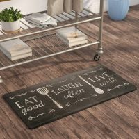 Super cool kitchen mats and rugs to add a touch of color ...