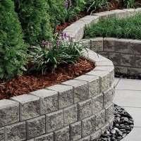 Cheap retaining wall ideas  choosing materials for garden ...