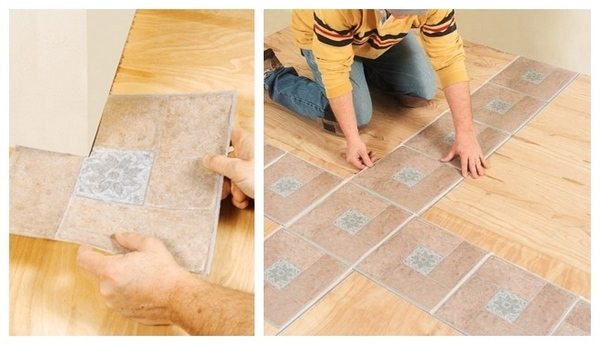 Peel and stick flooring ideas – quick and easy DIY floor options