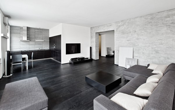 modern interior design living room black and white sets under 600 interiors stylish ideas contemporary home grey color scheme