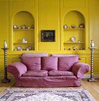 Complementary color scheme in interior design  how to ...