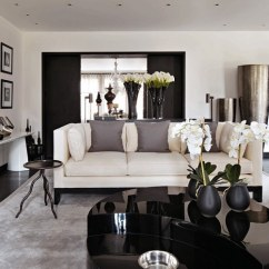 Contemporary Design Ideas Living Room Hanging Chair Modern Black And White Interiors Stylish