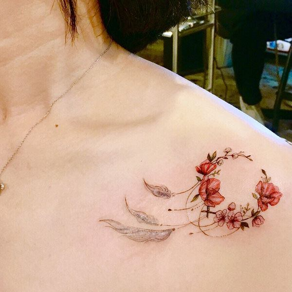 Tattoo Collarbone Women