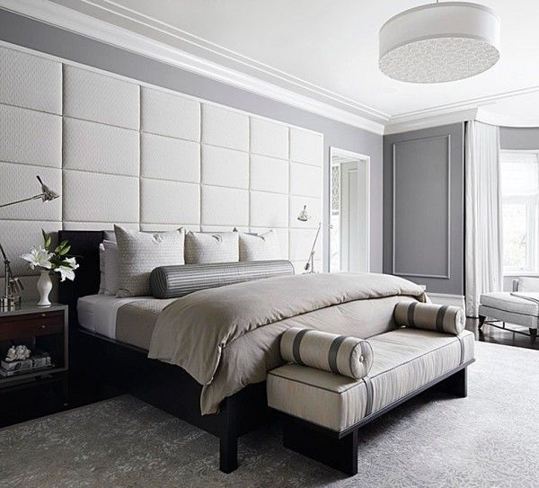 Check out these diy canopy beds you can make yourself. Padded wall panels in the bedroom – outstanding accent