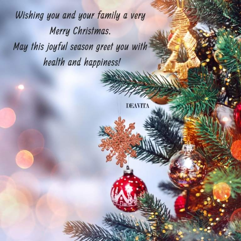 The Best Christmas Wishes And Joyful Greetings For The Holidays