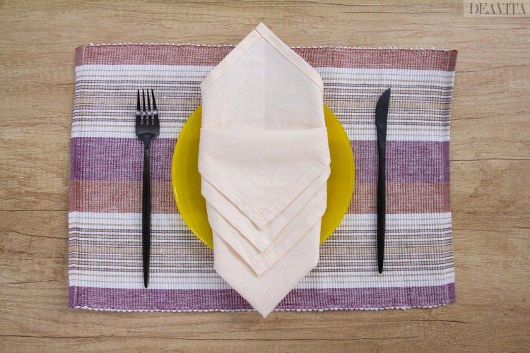 easy napkin folding ideas