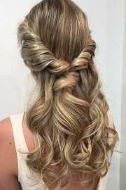prom hair trendy
