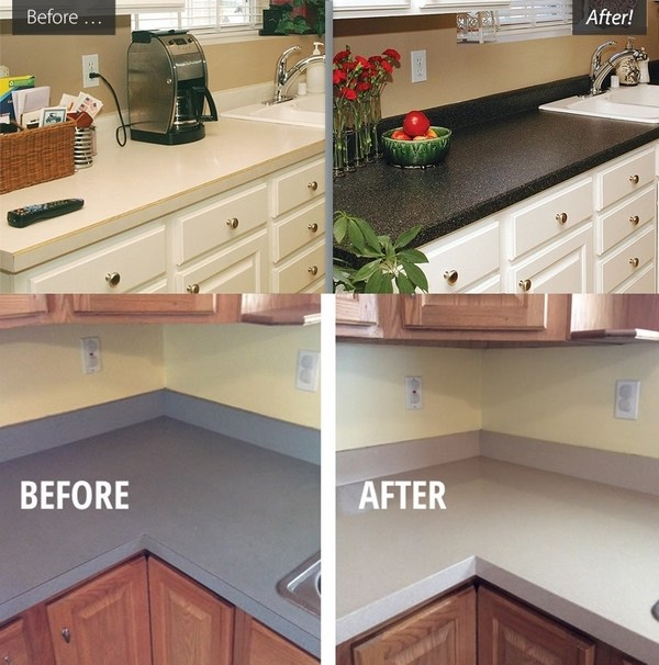 Diy Countertop Refinishing Tips And