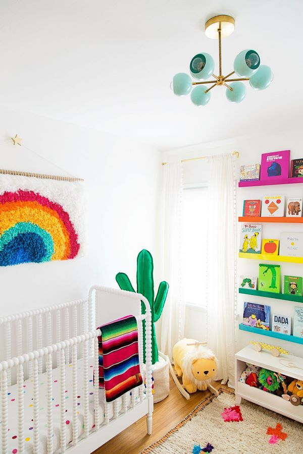Creative Rainbow Decoration Ideas Bright Colors In Kids Bedrooms