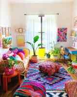 Boho living room ideas – colorful and vibrant interior designs