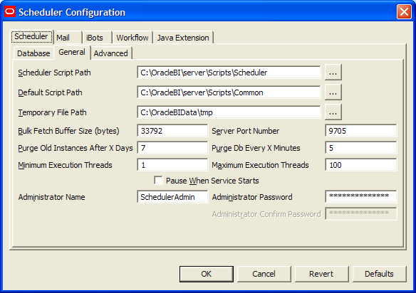 OBIEE Delivers-Schedulers-iBot Setup and Configuration (2/6)