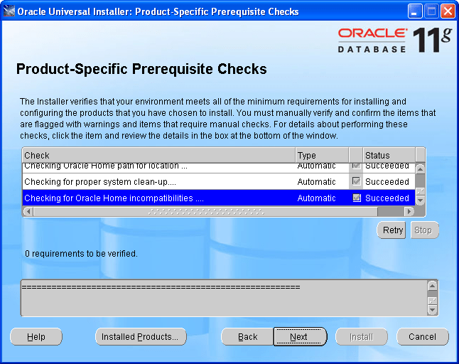 Step by Step Upgrading Oracle 10g to Oracle 11g (5/6)