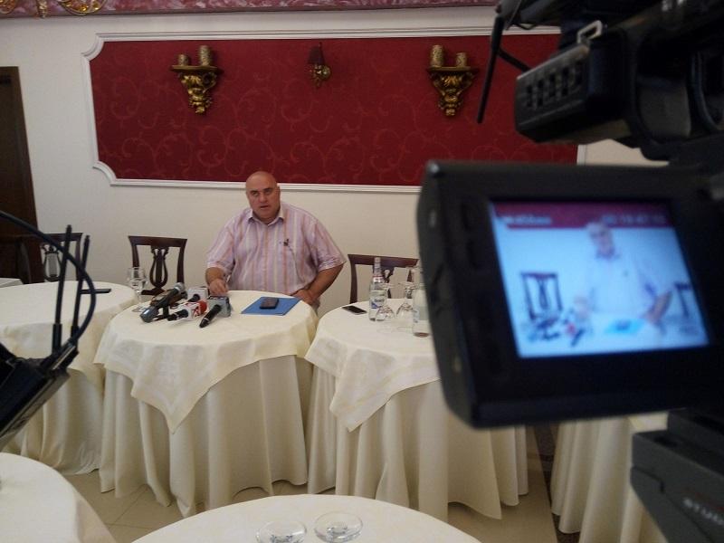 Lucaș – prima ieșire publică după condamnare (VIDEO)