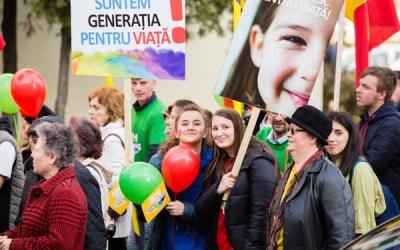 Marș pentru viață – Unic din prima secundă (foto)
