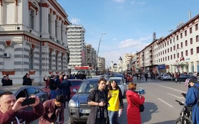 #șîeu – Imediat după ce ministrul Cuc a reinaugurat centura municipiului, băcăuanii au blocat orașul (foto-video)