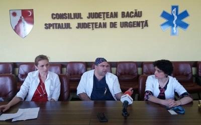 Pacient cu două tumori, salvat de medicii băcăuani