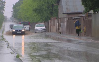 Cod galben de ploi torențiale și vijelii în județul Bacău