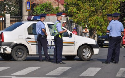 Activităţile poliţiştilor rutieri pe raza judeţului Bacău în ultimele 24 de ore