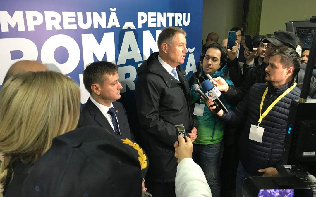 Iohannis a lansat candidatul PNL la șefia CJ Bacău. (VIDEO) Președintele l-a nominalizat pe Ionel Palăr