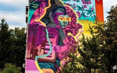 Bacăul a devenit orașul cu cele mai multe picturi murale care purifică aerul, din Europa