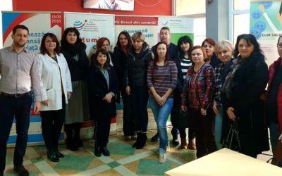 """DSP Bacău și Serviciul de Ambulanță Bacău au participat la campania """"Dăruieşte timp! Donează sânge!"""" (FOTO)"""