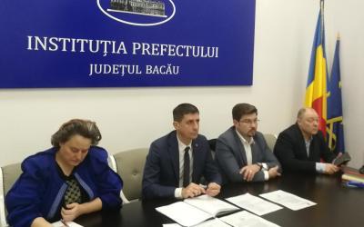 O nouă ședință de lucru în vederea construcției Variantei Ocolitoare a Bacăului