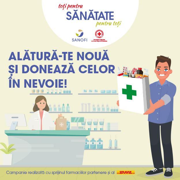 """Crucea Roșie Română lansează campania """"Toți pentru sănătate, sănătate pentru toți"""""""